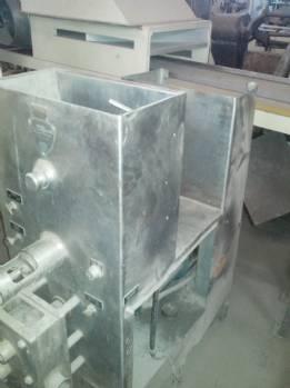 Industrial mixer pulp developer