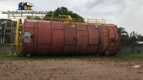 Industrial stratified tank 190 m³