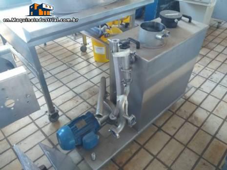 Centrifugal pump with tank Bombinox