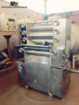 5 roller refiner Jaf inox